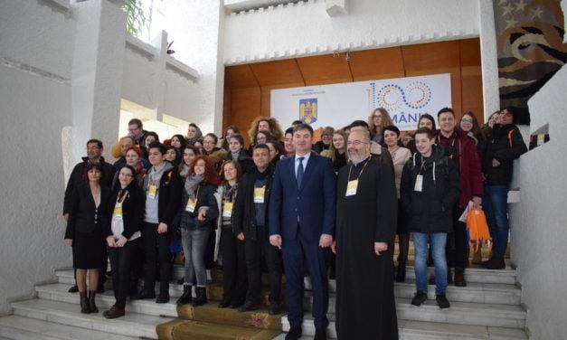 Delegaţie Erasmus+ din patru ţări, la Palatul Administrativ