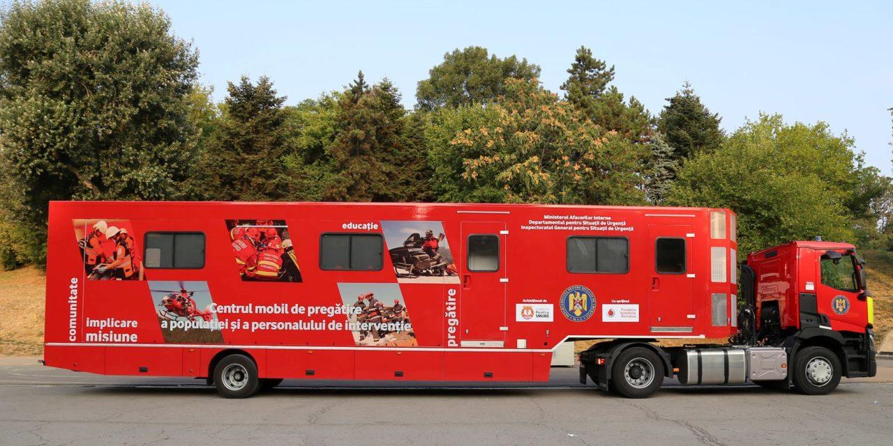 "Caravana SMURD ""Fii Pregătit!"", din nou la Botoșani"