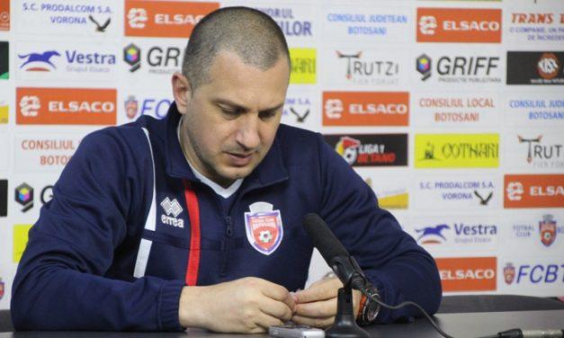 "FC Botoșani – Dinamo 0-1. Costel Enache: ""E dureros, mă simt frustrat"""