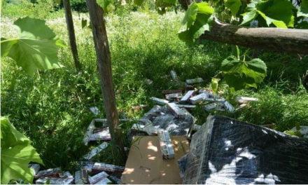 Polițiștii de Frontieră Darabani au descoperit și confiscat 119.200 ţigarete de contrabandă , în valoare totală de 66.750 lei