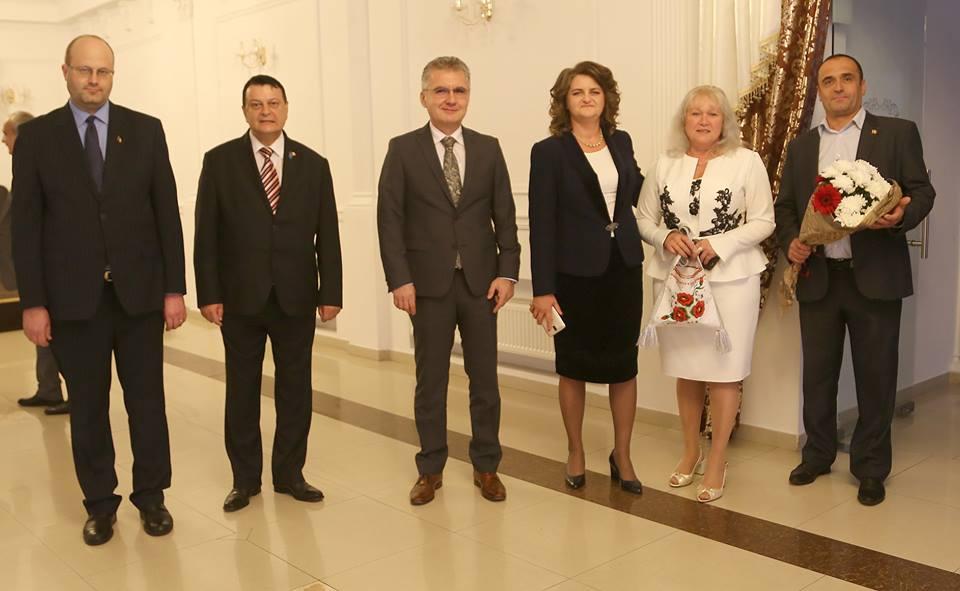 Consulul general al României la Cernăuți Eleonora Moldovan și-a luat rămas bun de la cernăuțeni cu ocazia încheierii misiunii sale diplomatice