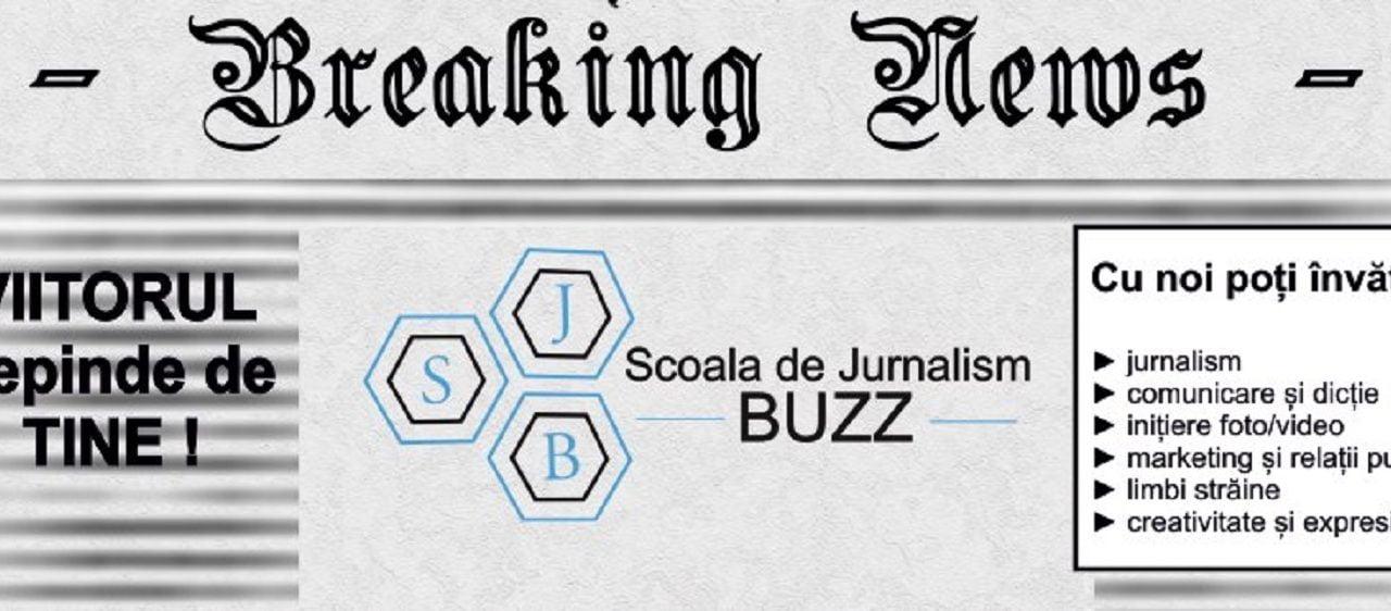 O nouă provocare pentru micii reporteri ai ziarului Buzz: Uniunea Ziariștilor Profesioniști Junior