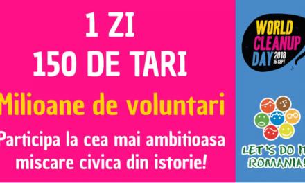 """Implicare puternică la Botoșani pentru campania """"Let's Do It, Romania!"""""""