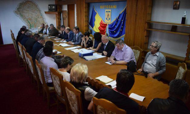 Întâlnirea secretarilor unităţilor administrativ- teritoriale din judeţ