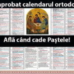 A fost aprobat calendarul ortodox 2019. Află când cade Paștele in 2019!
