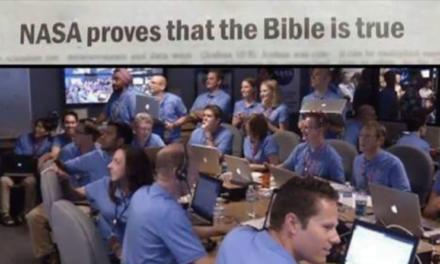 NASA a descoperit ca tot ce spune Biblia este adevarat (video)
