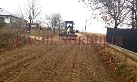 Au început lucrările de modernizare a drumului Hudesti-Mlenăuți