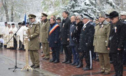 """Eveniment inedit în municipiul Dorohoi, prilejuit de resfinţirea Monumentului """"Ostaşul roman în atac"""""""