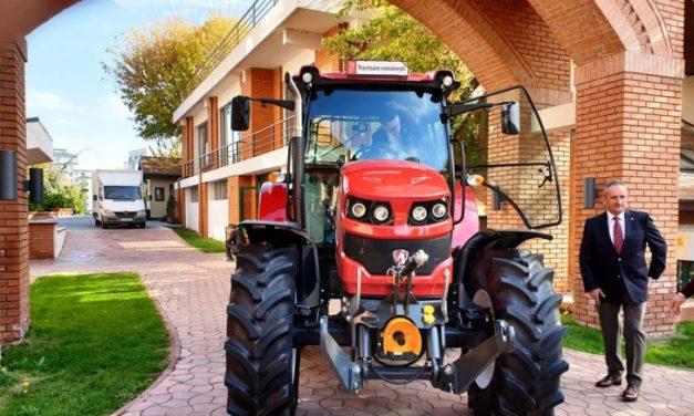 Primul tractor 100 la sută românesc din ultimii 15 ani
