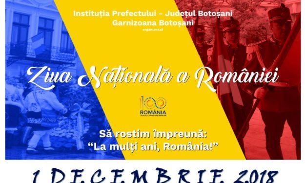 Să sărbătorim împreună o sută de ani de Românie!