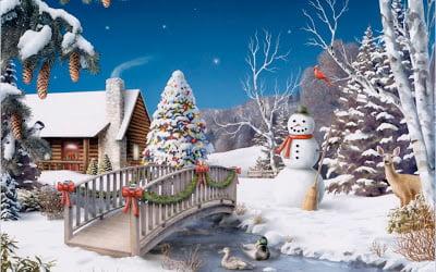 Se răcește brusc și încep ninsorile.Vine iarna….