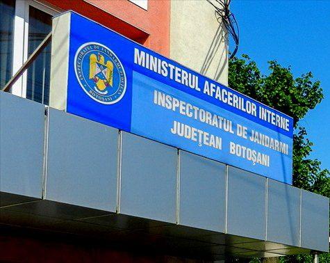 Inspectoratul de Jandarmi Judeţean Botoşani face angajări