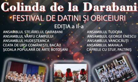 *Colinda de la Darabani  Festival de Datini şi Oboceiuri ediţia a-II-a