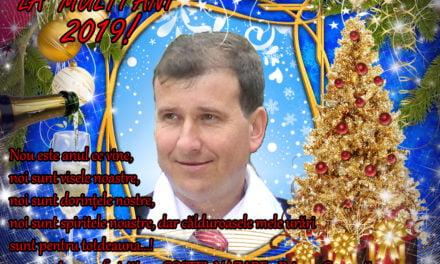 La mulți ani vă urează primarul comunei Concești Costel Nazare