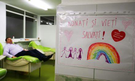 Instituţia Prefectului încurajează donarea de sânge!