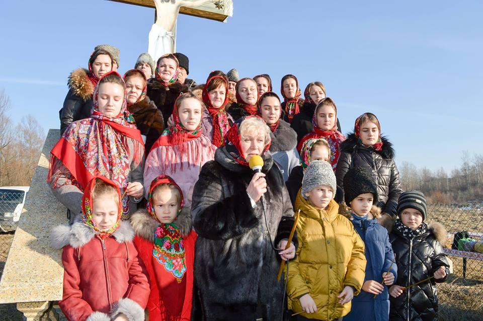 Manifestare de doliu la Lunca Herței în memoria martirilor neamului românesc