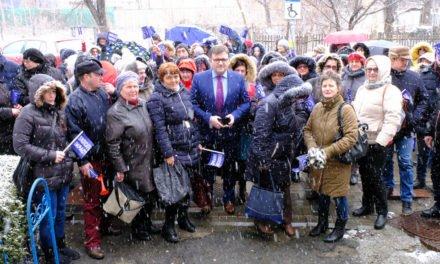 Protest la Direcția pentru Protecția Copilului Botoșani cu 200 de angajați, în prezența ministrului Muncii, Marius Budăi