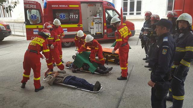 Exerciţiu în caz de urgenţă în această seară, în municipiul Botoșani