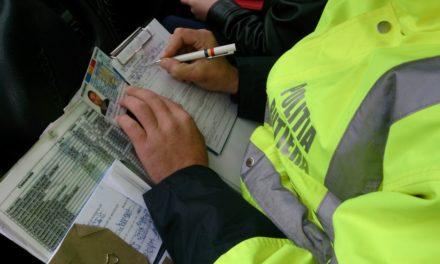 Tânăr cercetat pentru infracţiuni rutiere