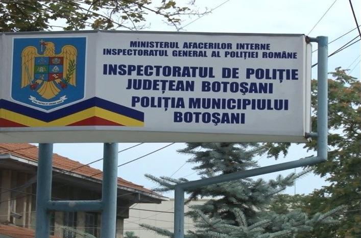 BULETIN DE PRESĂ AL POLITIEI BOTOSANENE