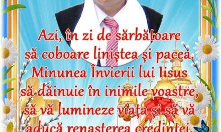 MESAJ PASCAL AL PRIMARULUI COMUNEI Concesti Costel Nazare