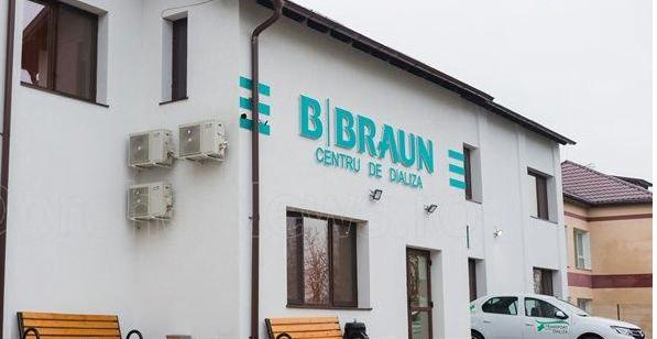 B. Braun a inaugurat centrul de dializă din Dorohoi
