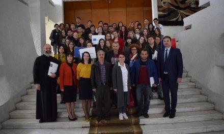 Vizită a echipei de proiect Erasmus+ la Instituţia Prefectului Botoşani