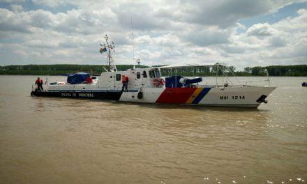 Infracțiuni de braconaj piscicol constatate de polițiștii de frontieră brăileni și gălățeni
