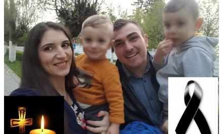 """Mesaj sfâșietor transmis de soția tânărului de 25 de ani din Botoșani, mort într-un cumplit accident. """"Sunt lacrimi atât de grele și de fierbinți"""