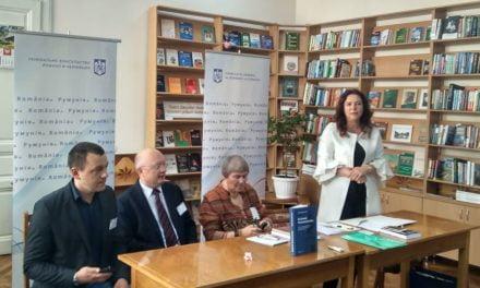 La Cernăuți s-a desfășurat un Salon Internațional de Carte Românească