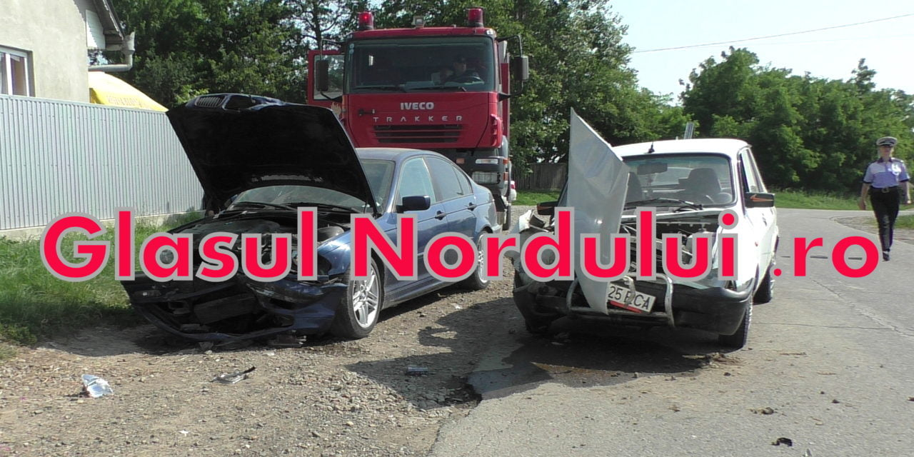 Accident rutier la Bajura