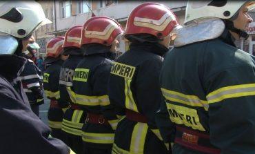 """Pompierii botoșăneni și-au testat aptitudinile  """"Cel mai puternic pompier"""","""