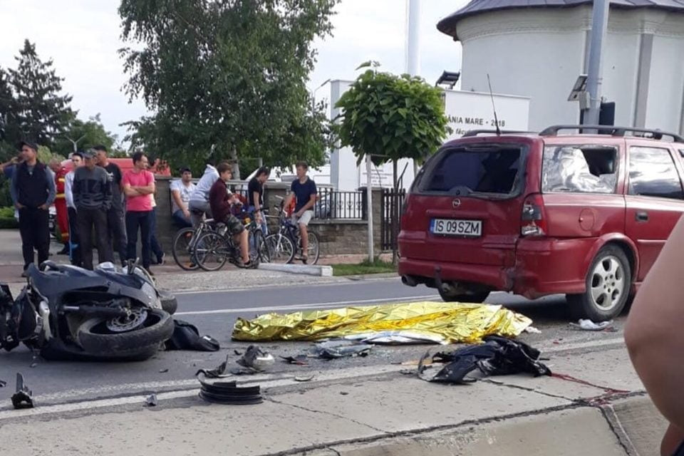 Accident pe raza localității Dumbrăveni, care s-a soldat cu decesul unei persoane.