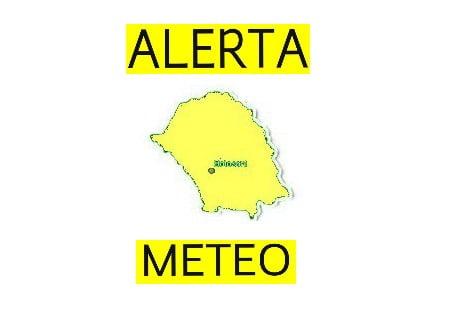 ATENŢIE, botoşăneni: Avertizare de vreme rea anunţată de meteorologi