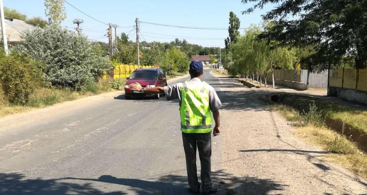 Cetăţean român depistat în trafic  la volanul unui autoturism suspendat temporar