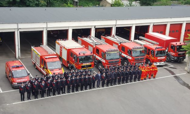 58 de pompieri botoşăneni avansaţi în grad