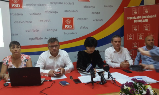 Președintele PSD Botoșani, Doina Federovici:  Marele proiect  care privește și județul Botoșani