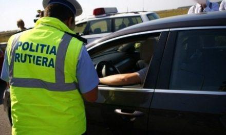 Înfracţiuni rutiere cercetate de către poliţişti