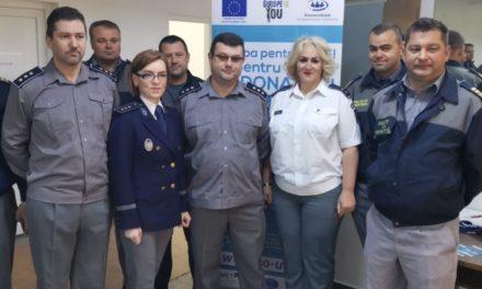 """Polițiștii de frontieră s-au alăturat Campaniei """"Europa pentru tine! Tu pentru viață! Fii Donator!"""""""