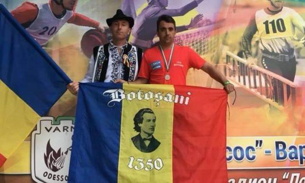 "Botoșăneanul Dorin Iulian Sobariu a obținut locul III individual la proba ,, Pista cu obstacole pe 100 m-Națiuni "" la ""Cupa Odessos"" din Bulgaria"