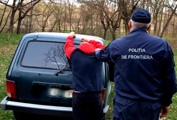 Cetăţean georgian depistat în tentativă de trecere ilegală a frontierei de stat