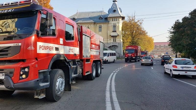 Exercițiu în domeniul situațiilor de urgență în municipiul Botoșani, pe 11 septembrie