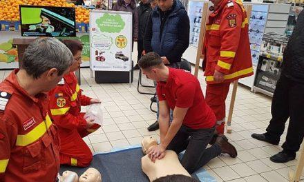 Lecții gratuite de acordare a primului ajutor, de Ziua Europeană a Resuscitării
