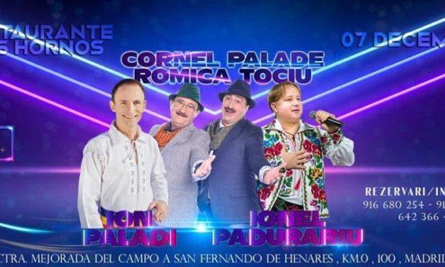 Solistul  de muzică populara Ionel Pădurariu  pleacă în Spania să cânte cu Romică Țociu si Cornel Plade!