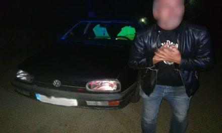 Bărbat băut şi fără permis, depistat la volan în miez de noapte