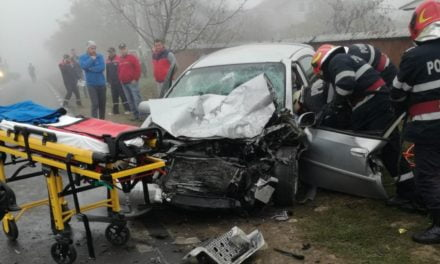 Accident la ieșirea din Dorohoi spre Darabani FOTO