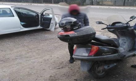 Tânăr fără permis, depistat la volan în miezul zilei