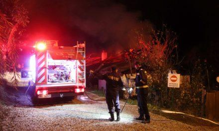 INCENDIU. Casă distrusă de flăcări în municipiul Botoșani FOTO&VIDEO
