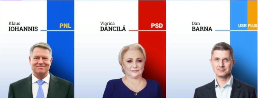 Rezultate finale alegeri prezidențiale  comuna Hudești