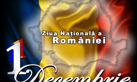 Vă invitam Duminică 1 Decembrie să sărbătorim împreună Ziua Națională a României!!!  LA DARABANI